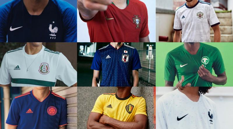 Futbol y diseño: las casacas más bonitas del mundial